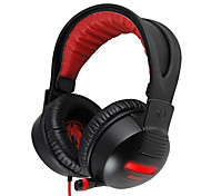 G956 Somic Stereo Gaming USB 7.1 audio Canale cuffie over-ear con microfono e telecomando per il PC