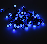 5M 3W 50-LED Blue Light Ball Shaped LED Strip Light (220V)