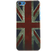 Retro a Union Jack Padrão Hard Case para iPhone 5C