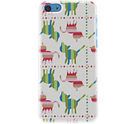 Colorful Cats Pattern Hard Case for iPhone 5C
