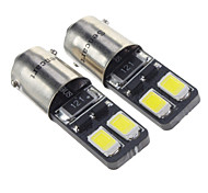 BA9S 1.5W 4x5730SMD 27LM 6000K Cool White Light LED Bulb for Car (12V,2 pcs)