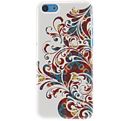 Magnificent Flowers Pattern Hard Case for iPhone 5C