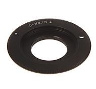 C-M4/3 Camera Lens Adapter Ring (Black)