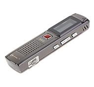4GB 2.0USB Multi Language FM Tuner Professional Digital Voice Recorder Black