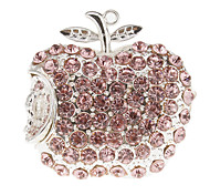 8G Crystal Apple Shaped USB Flash Drive