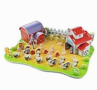 3D Puzzle  Mini Ranch Toy  for Kids
