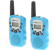 T388 2PCS/Pair Containing Two Walkie Talkies Blue