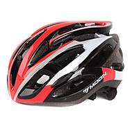 MOON vélo rouge PC + EPS 28 Vents Casque de protection