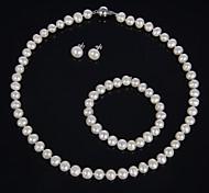Ensemble de bijoux Perle Femme