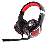 G954V2012 Somic Stereo Gaming USB 7.1 audio Canale cuffie over-ear con microfono e telecomando per il PC