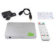 Ourspop MT1 Quad-Core Android 4.2.2 Google TV Player Bluetooth RJ45 SPDII (2GB RAM 8GB ROM)