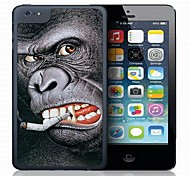 Monkey Pattern 3D Effect Case for iPhone 5C