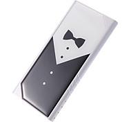 Z-8808 8800mAh Battery Bank for Mobile Device Male Tuxedo Pattern