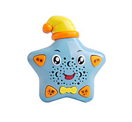 Star-shaped Educational Musical Sky Blue Study Machine with Songs and Jokes