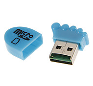 USB 2.0 Memory Card Reader (Yellow/White/Blue/Rose/Green)