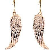 Lureme®Alloy Wings Dangle Earrings\