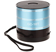 QC-18T Mini Rounded Speaker with TF Port/SD Port/FM Radio