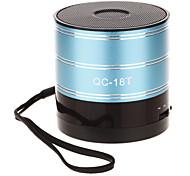 QC-18T Mini Speaker arredondada, com TF Porto / SD Porto / FM Radio
