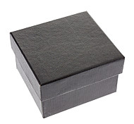 Fashion Black Paper Jewelry Box For Watch(1pc)