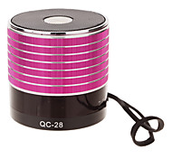 QC-28 Hallo-Fi-Stereo-Mini-Lautsprecher mit TF-Port für Handy / Laptop / Tablet PC
