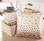 Nature Random Stars and Dots Pillow With Insert