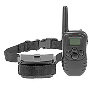 Remote Pet No Bark Training Collar with LCD Display for Pets Dogs