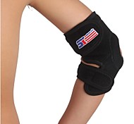 Silicon Adjustable Ventilate Elastic Sport Elbow Guard Protector - Free Size