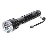 LT-K265 5-Mode Cree XM-L T6 LED Flashlight (1100LM, 1x18650, Black)