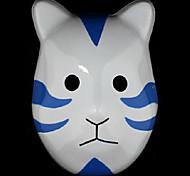 naruto madara uchiha máscara pvc branco e azul
