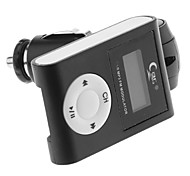 SG-S005 Car MP3 Player com Transmissor FM com tela LCD