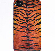 Vivid Bar Type Leopard Print Pattern Back Case for iPhone 4/4S