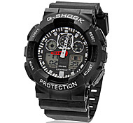 Man's Watch Sports Watch Analog-Digital Multi-Function LCD Display Cool Watch Unique Watch