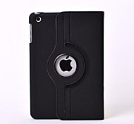 Rotation Fiber Leather Case Auto Sleep for iPad mini 3, iPad mini 2, iPad mini