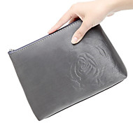Briefcase Shaped Luxurious Rose Pattern Make up/Cosmetics Bag Cosmetics Storage