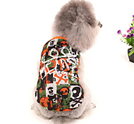 Cool Skull Pattern Caribbean Style Vest for Pets Dogs (Assorted Sizes)