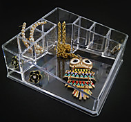 Acrylic Transparent Complex Quadrate Jewlery Storage Box