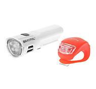 Bike Light , Headlamps / Bike Lights - 4 or more Mode 100 Lumens AAA x 4 Battery Cycling/Bike White Bike