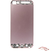 Pink Metal Alloy Back Battery Housing with Buttons For iPhone 5