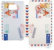 Los franqueo Estilo sello Casos Funda de piel de cuerpo completo para Samsung S2 I9100