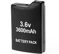3.6V 3600mAh Rechargeable Li-ion Battery Pack for PSP 1000