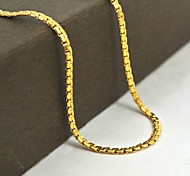 Gothic Golden Stainless Steel Chain Necklace