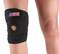 Sports Adjustable 4-spring Support Brace Cap Leg Knee Wrap Protector Pad - Free Size