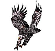 5 Stück Adler Wasserdicht Tattoo (10,5 cm * 20,5 cm) HM331