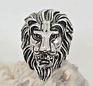 Europe And US Fashion Stainless Steel Lion Ring