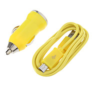 Bullet Shape Car Charger for Samsung Cell Phones and Other Brands