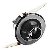 1W 110LM 2800-3300K luce bianca calda a LED Specchio Wine Cabinet Lampada-Black (CA 90-240V)