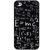 Masse-Energie-Gleichung Tonerde Muster Hülle für das iPhone 4/4S