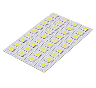 DIY 1.5W 9x5050SMD 30-60LM 5500-6000K Cool White Light LED PCB Board (12V)