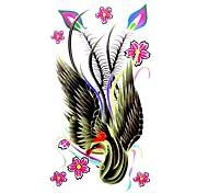5 Stück Phoenix Wasserdicht Tattoo (10,5 cm * 20,5 cm) HM038
