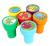 Dinosaur Pattern Toy Seal Set(6 PCS)